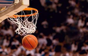 BBall through hoop