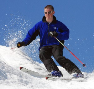 snowskiing photo
